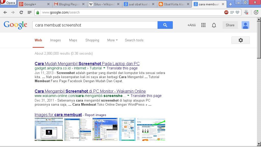 menangkap tampilan layar monitor netbook, laptop